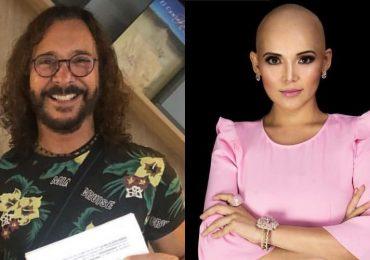 Óscar Burgos y Karla Luna. Fotos: Instagram