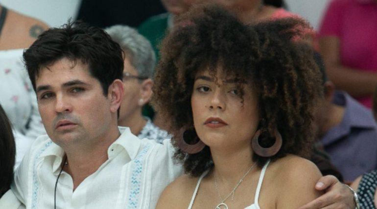 Ferdinando Valencia y Brenda Kellerman. Foto: Jorge Soltero