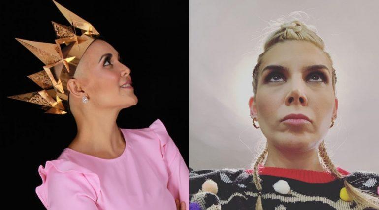 Karla Luna y Karla Panini. Fotos: Instagram