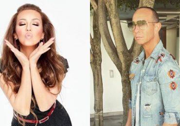 Thalía y Érik Rubín. Fotos: Instagram