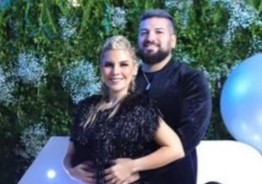 Karla Panini y Américo Garza. Foto: Twitter