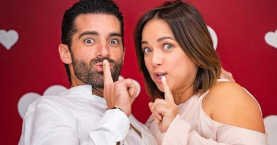 Toni Costa y Adamari López. Foto: Instagram