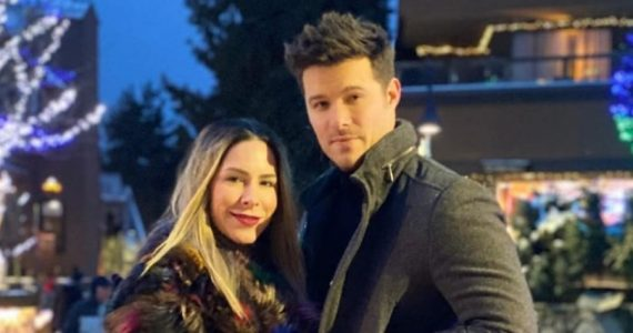 Brandon Peniche y Kristal Cid. Foto: Instagram