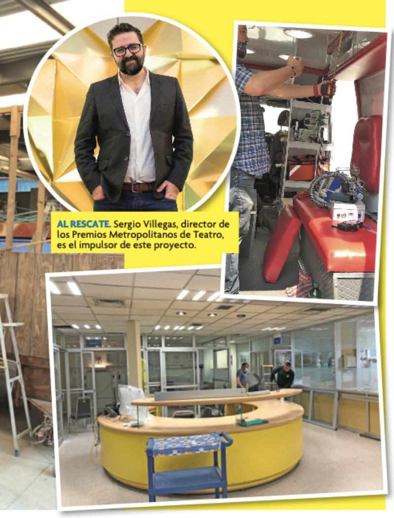 ¡Desean ayudar! Escenógrafos quieren construir espacios para pacientes de coronavirus