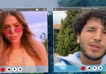 Danna Paola y Sebastián Yatra lanzarán canción juntos ¿Será romántica?. Foto: Captura Youtube