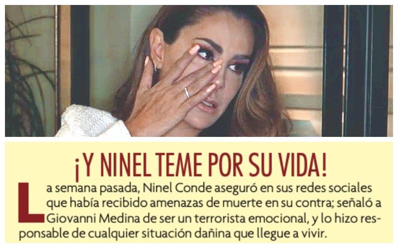Gustavo Adolfo Infante denuncia amenazas del ex de Ninel Conde, Giovanni Medina