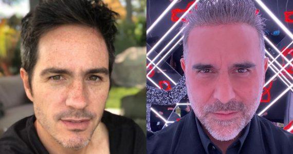 Mauricio Ochmann y Héctor Suárez Gomís   Foto: Instagram