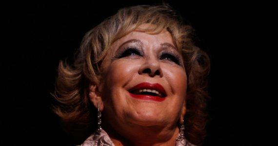 Así posó desnuda Silvia Pinal para una revista española