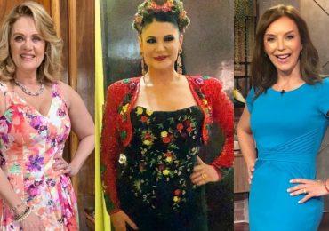 Érika Buenfil, Alejandra Ávalos, Laura Flores. Fotos: Instagram