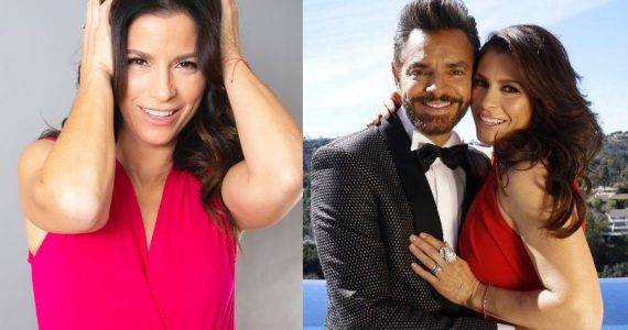 Alessandra Rosaldo y Eugenio Derbez. Fotos: Instagram
