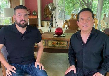 Américo Garza y Gustavo Adolfo Infante. Foto: Instagram
