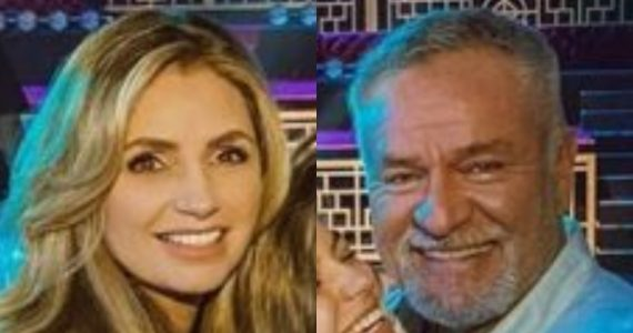 Angelica Rivera y El GÜero Castro. Foto: Instagram