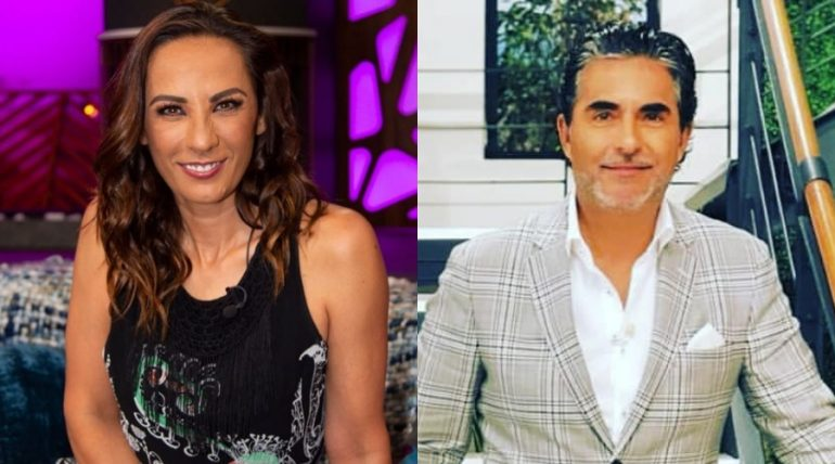 Consuelo Duval y Raúl Araiza. Fotos: Instagram