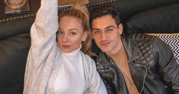 Ester Expósito y Alex Speitzer. Foto: Instagram