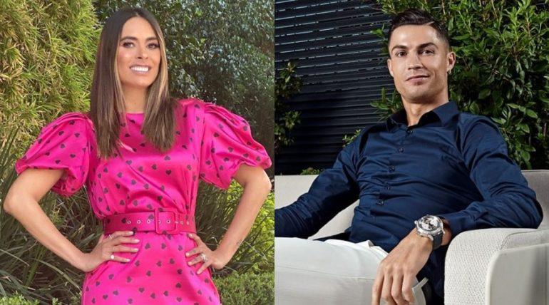 Galilea Montijo y Cristiano Ronaldo. Fotos: Instagram