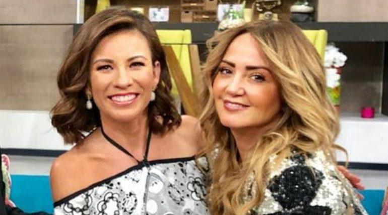 Ingrid Coronado y Andrea Legarreta. Foto: Instagram