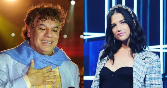Juan Gabriel y Natalia Jiménez. Fotos: Getty Images / Instagram