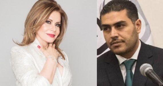 Maria Sorté y Omar García Harfuch. Fotos: Instagram / Twitter