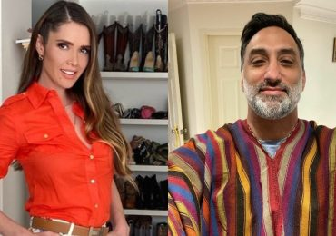 Marlene Favela y George Seely. Fotos: Instagram