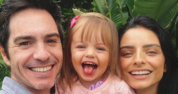 Mauricio Ochmann, Kailani y Aislinn Derbez. Foto: Instagram
