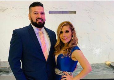 Américo Garza y Karla Panini. Foto: Twitter