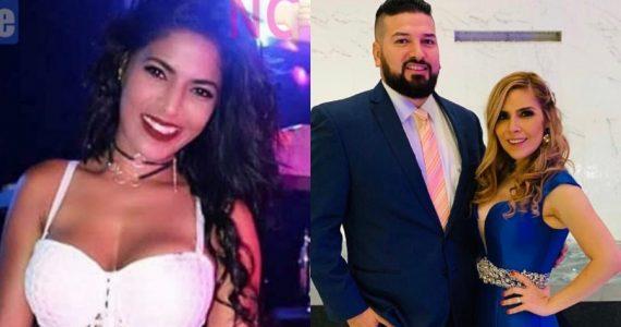 La Parcera, Américo Garza y Karla Panini. Fotos: Instagram / Twitter