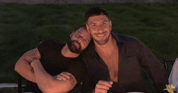 Ricky Martin y Jwan Yosef. Foto: Instagram