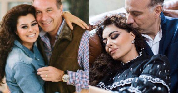 Yadhira Carrillo teme que Juan Collado contraiga COVID-9 en el penal. Fotos: Instagram