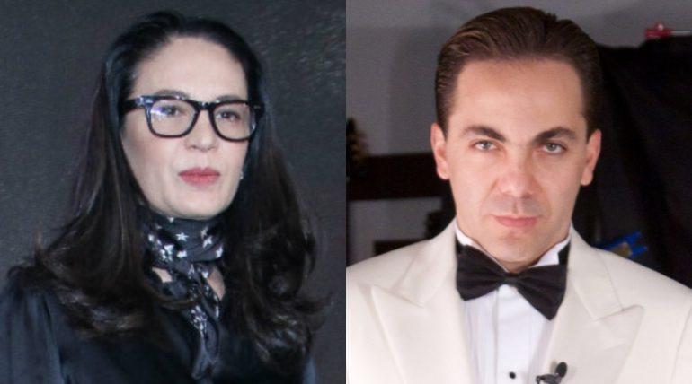 Yolanda Andrade, Cristian Castro. Fotos: Archivo / Getty Images