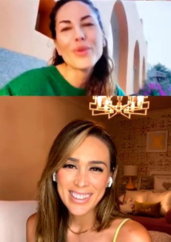 Barbara Mori y Jacky Bracamontes | Foto: Facebook