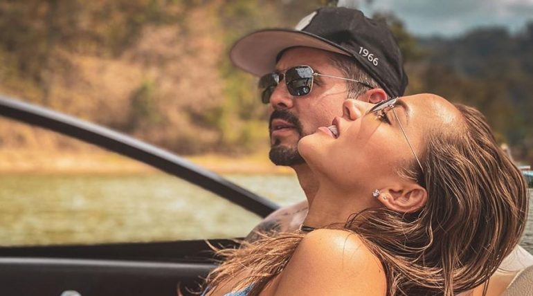 """José Ron y Jessica Díaz se dieron su buen """"recalentado"""" ¿Amigos con derecho?. Foto: Archivo"""