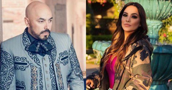 Lupillo Rivera y Mayeli Alonso. Fotos: Instagram