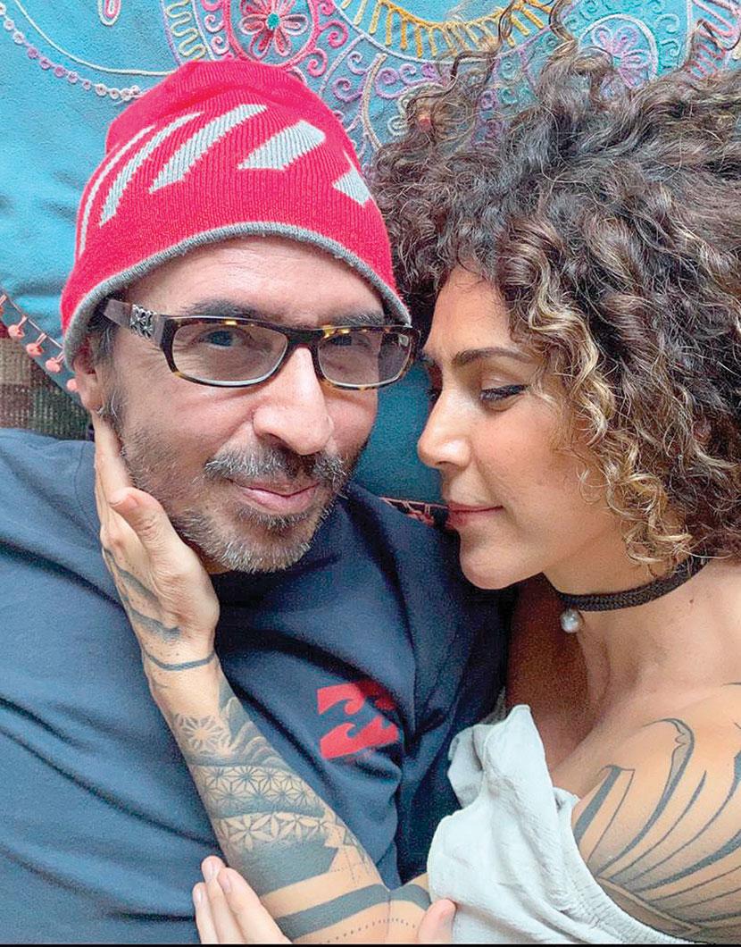 Memo del Bosque y Vica Andrade| Foto: Cortesía
