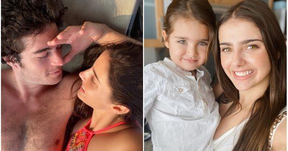 Michelle Renaud presume buena relación de su hijo con Danilo Carrera