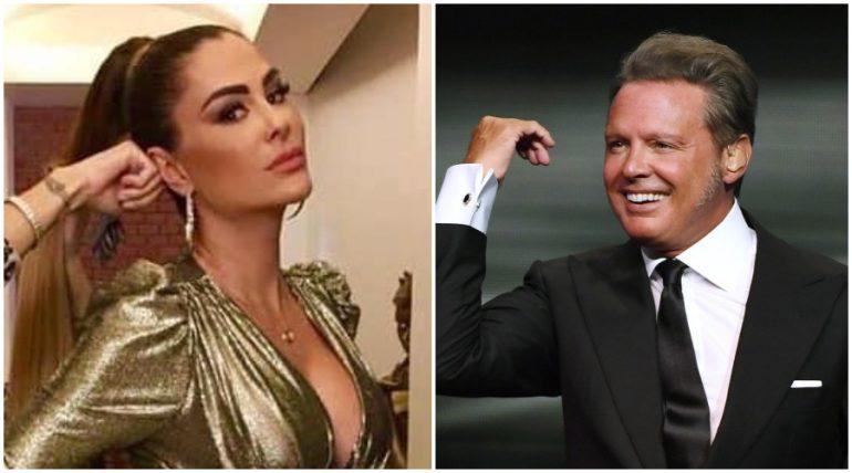 """""""Divino"""": Ninel Conde recuerda su romance con Luis Miguel"""