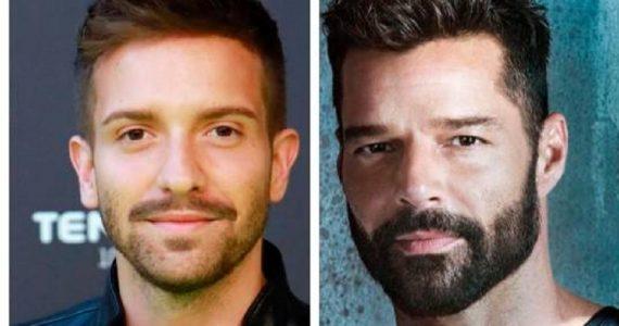 Pablo Alborán y Ricky Martin hicieron juntos un viaje a la india. Foto: Archivo