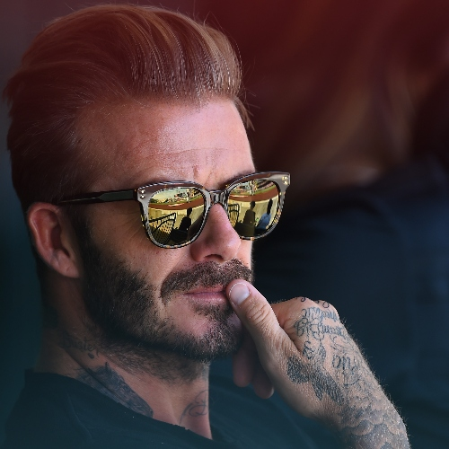 David Beckham, Tatuajes Sexys. Foto: Getty Images