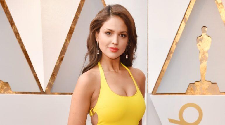Eiza González borró una foto en Instagram tras fuertes críticas. Foto: Getty Images