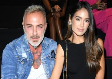 Gianluca Vacchi y Sharon Fonseca. Foto: Getty Images