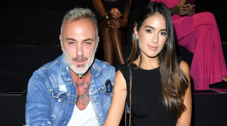El Sugar daddy Gianluca Vacchi y Sharon Fonseca. Foto: Getty Images
