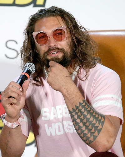Jason Momoa, Tatuajes Sexys. Foto: Getty Images