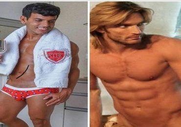 """¡Reto de encuerados! Julián Gil desafía a Tito """"El Bambino"""". Foto: Archivo"""