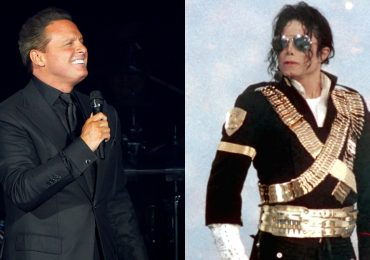 Luis Miguel y Michael Jackson. Fotos: Getty Images