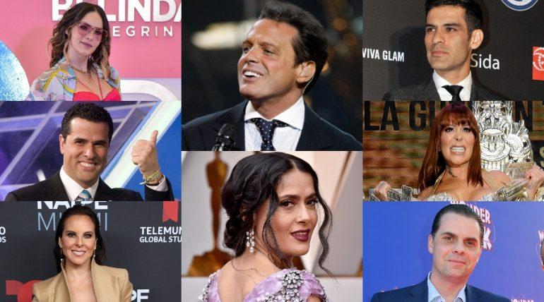 Celebridades mexicanas más adineradas. Fotos: Getty Images