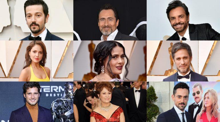 Mexicanos en Hollywood. Fotos: Getty Images