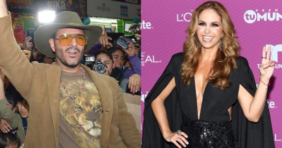 Pablo Montero y Lucero debutan en TikTok. Fotos: Getty Images