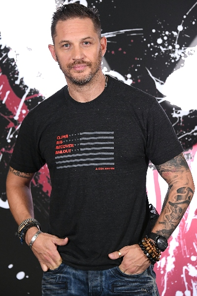 Tom Hardy, Tatuajes Sexys. Foto: Getty Images