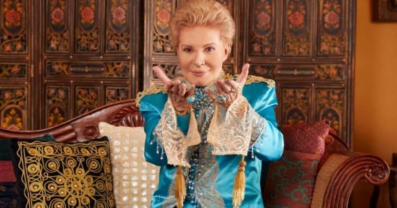 Lo que no viste en el documental de Walter Mercado. Foto: Archivo