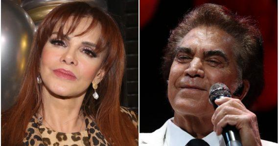Lucía Méndez y 'El Puma' hablan de su ruptura amorosa
