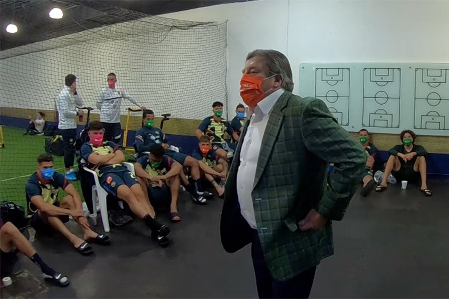 El futbol te recuerda: lleva puesto el cubrebocas